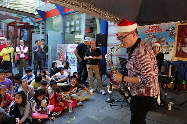 Christmas In Wulai band